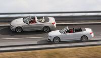 Audi RS 5 Cabriolet, BMW M4 Cabrio, Seitenansicht