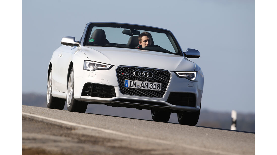 Audi RS 5 Cabriolet, Frontansicht