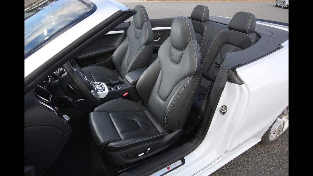 Audi RS 5 Cabriolet, Sitze