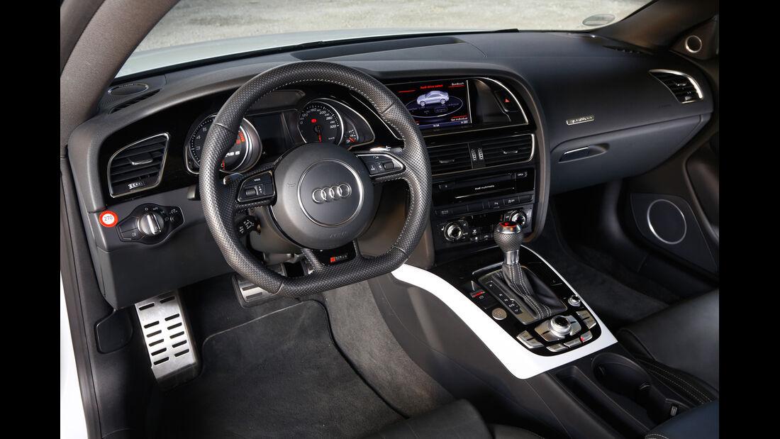 Audi RS 5, Cockpit, Lenkrad