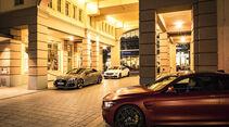 Audi RS 5 Coupé, BMW M4 Competition, Mercedes-AMG C 63 Coupé, Exterieur