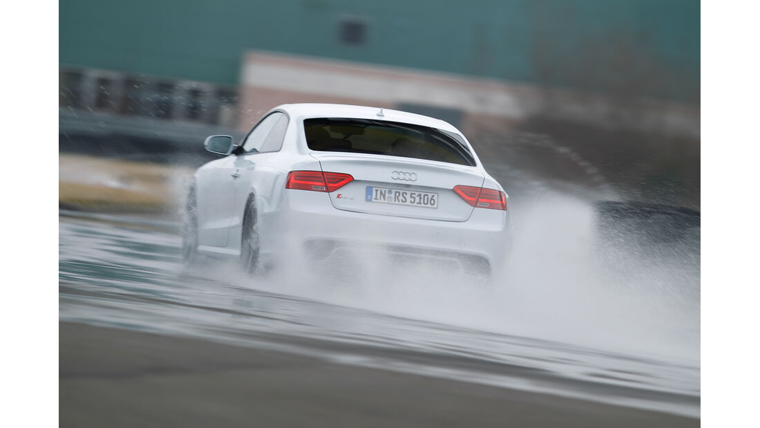 Audi RS 5 Coupé, Heckansicht