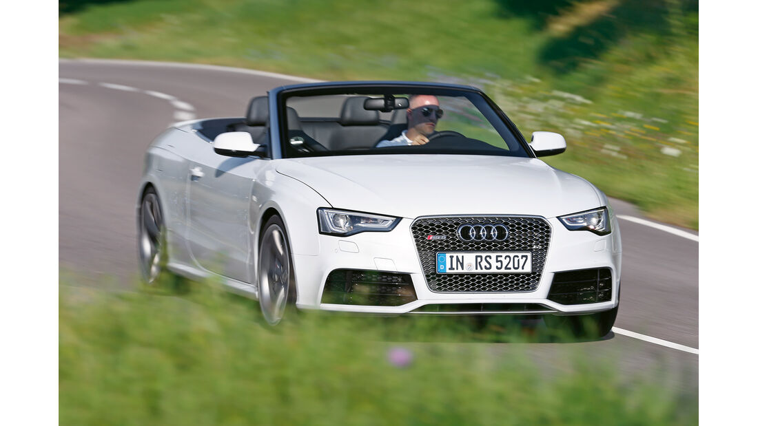 Audi RS 5, Frontansicht