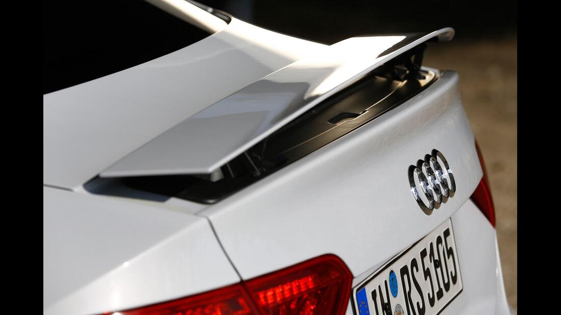 Audi RS 5, Heckschürze, Heckspoiler