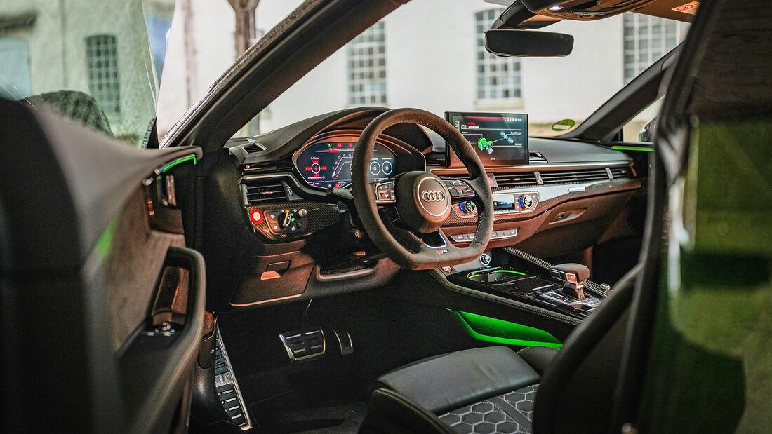 Audi RS 5, Interieur