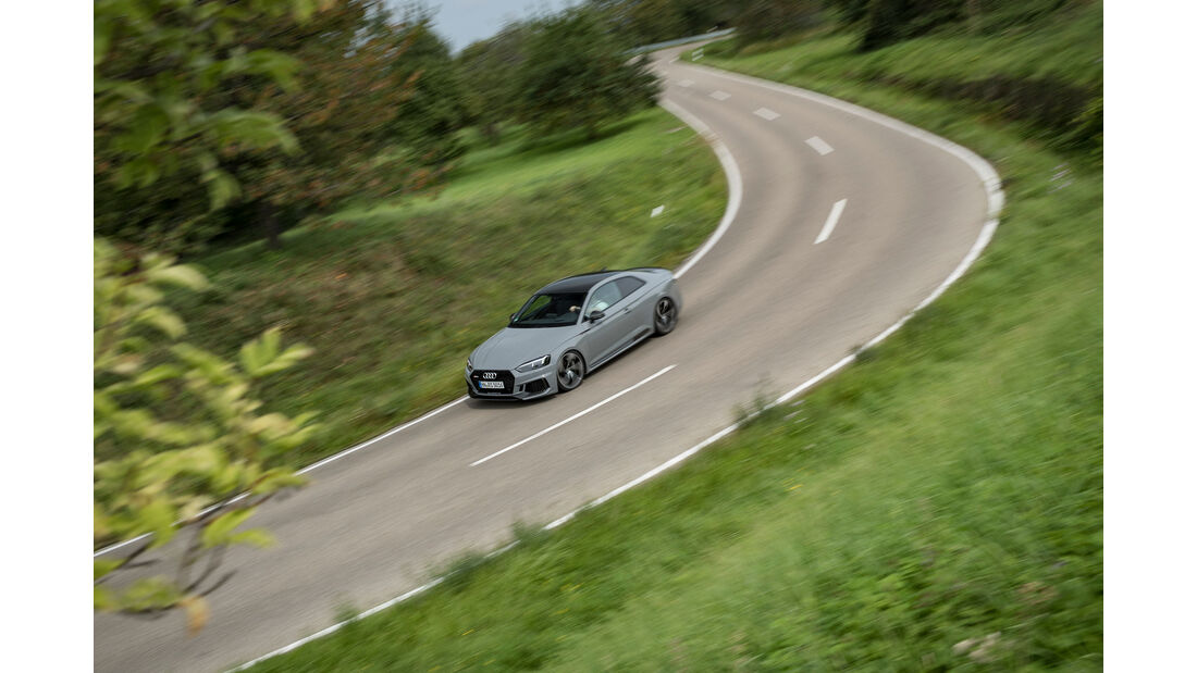 Audi RS 5 - Power-Coupé - Test