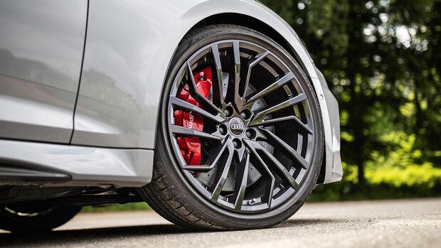 Audi RS 5 Sportback, Rad