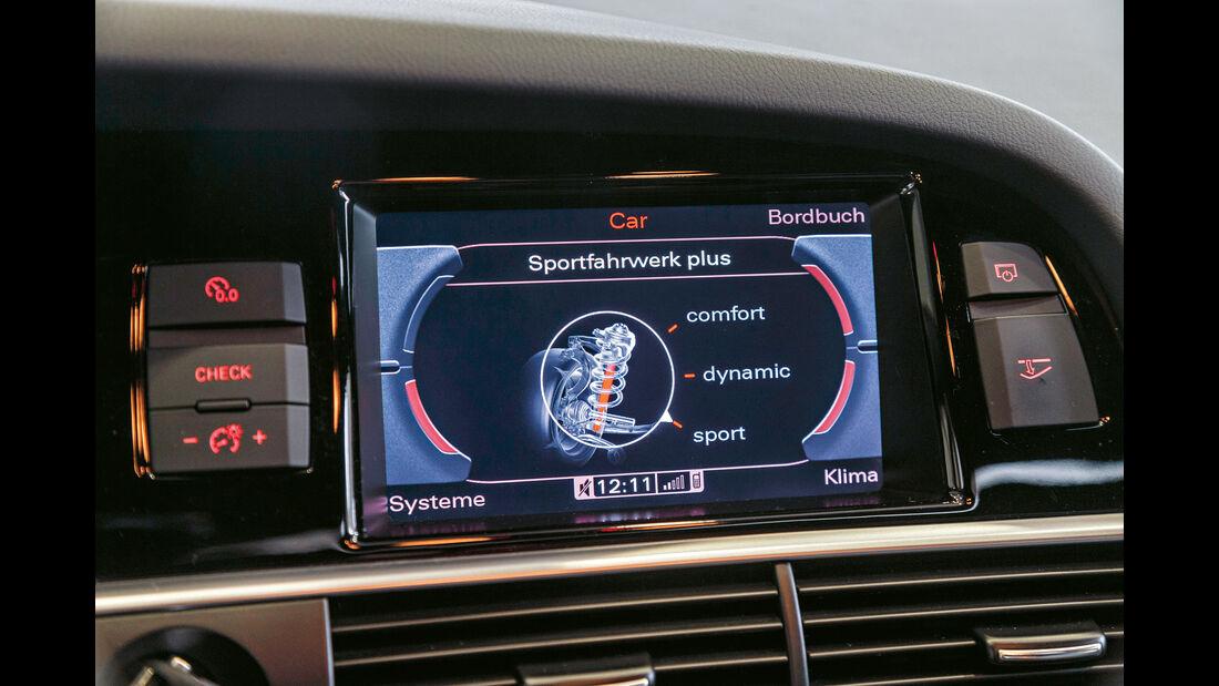 Audi RS 6 Avant, Anzeigeinstrumente