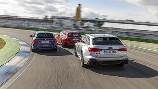 Audi RS 6 Avant, BMW Alpina B5 Touring, Mercedes-AMG E 63 S T, Exterieur