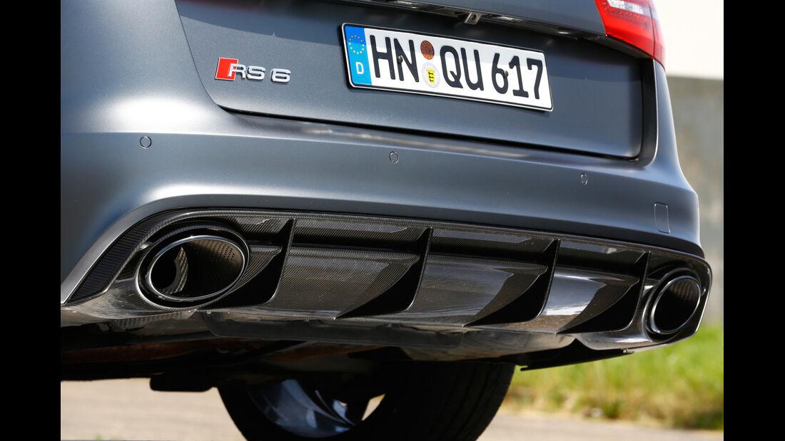 Audi RS 6 Avant, Endrohre, Auspuff