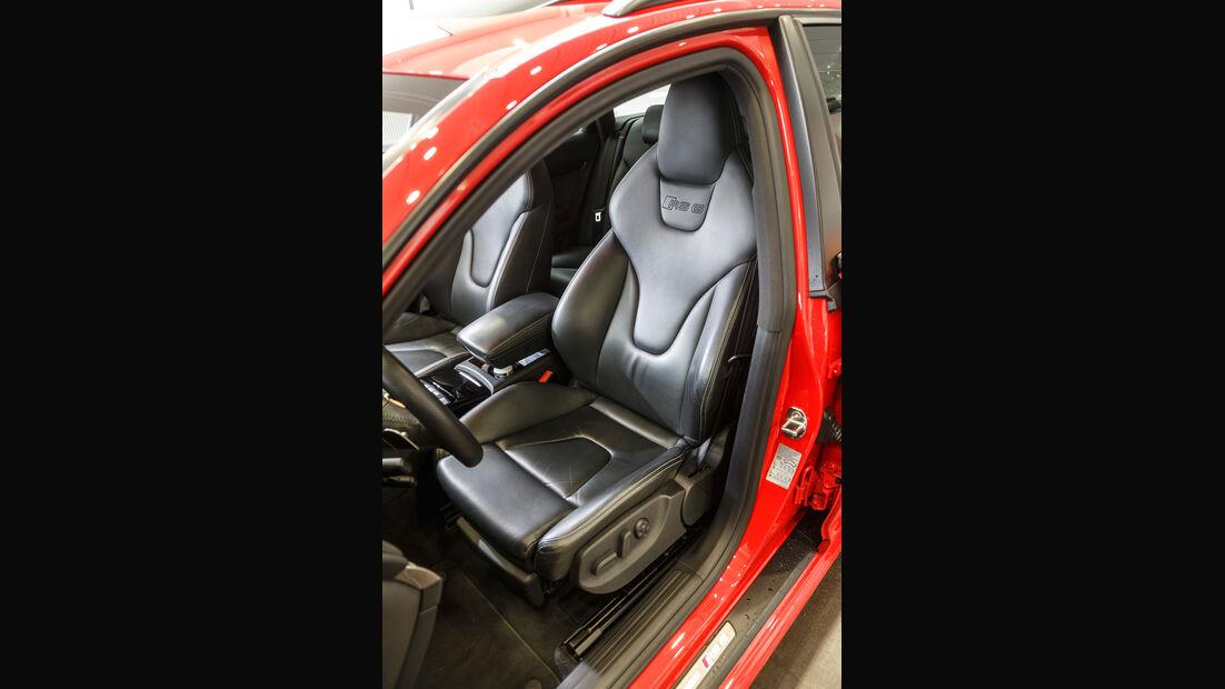 Audi RS 6 Avant, Fahrersitz