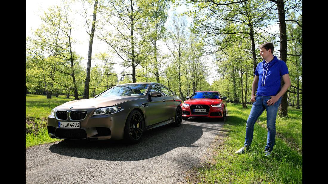 Audi RS 6 Avant Performance, BMW M5 Competition, Stefan Helmreich