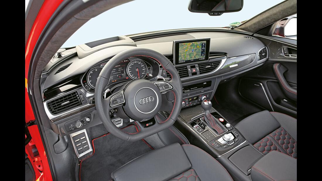 Audi RS 6 Avant Performance, Cockpit