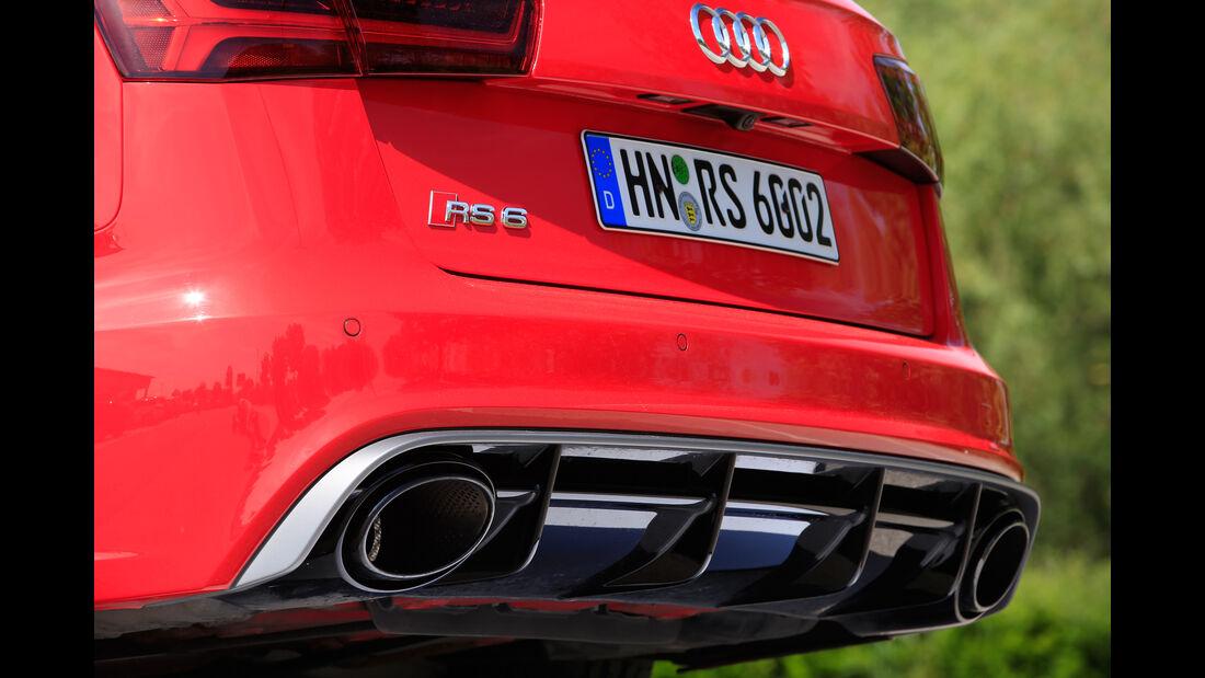 Audi RS 6 Avant Performance, Endrohre