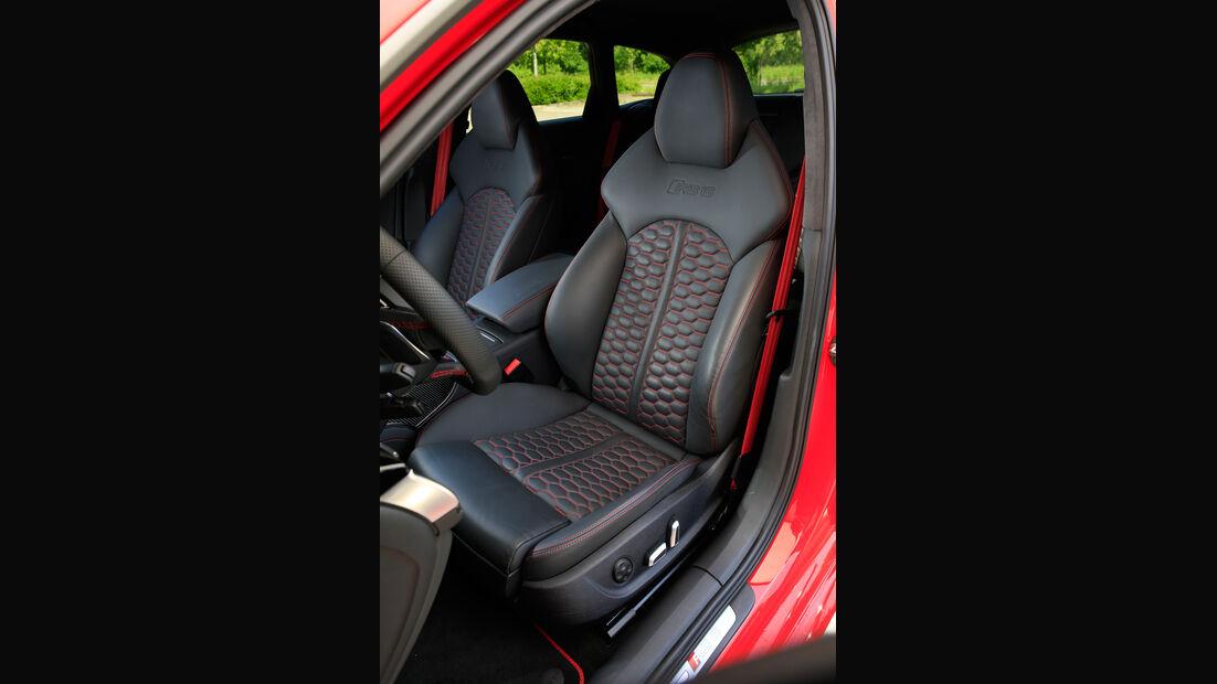 Audi RS 6 Avant Performance, Fahrersitz