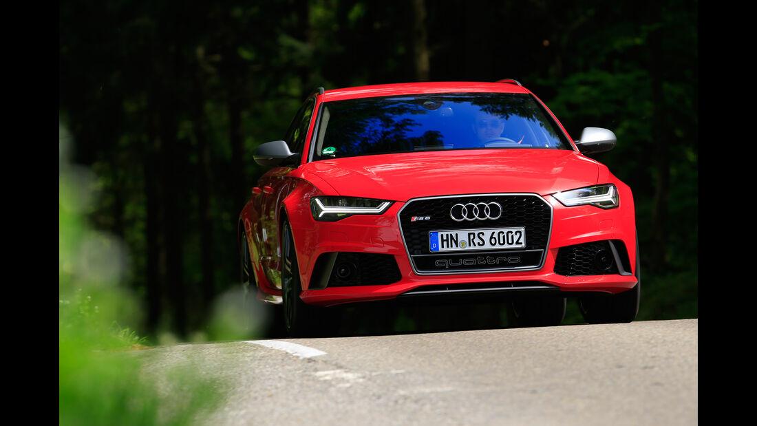 Audi RS 6 Avant Performance, Frontansicht