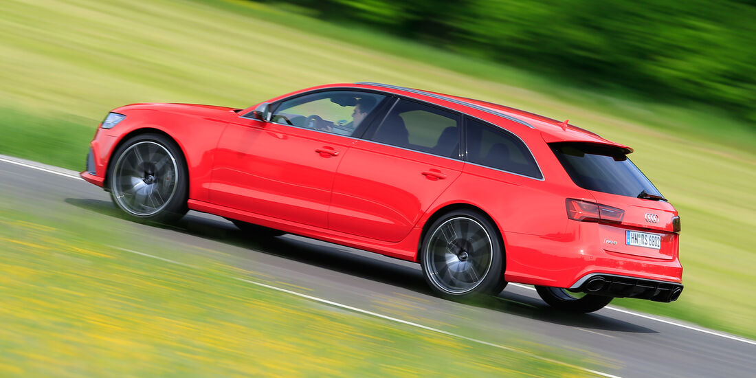 Audi RS 6 Avant Performance, Heckansicht