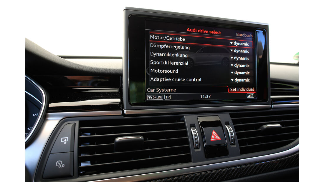 Audi RS 6 Avant Performance, Monitor