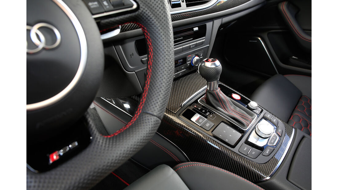 Audi RS 6 Avant Performance, Schalthebel