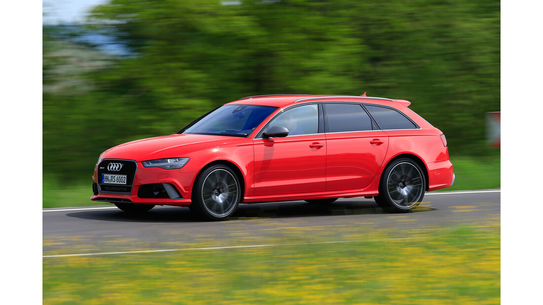 Audi RS 6 Avant Performance, Seitenansicht