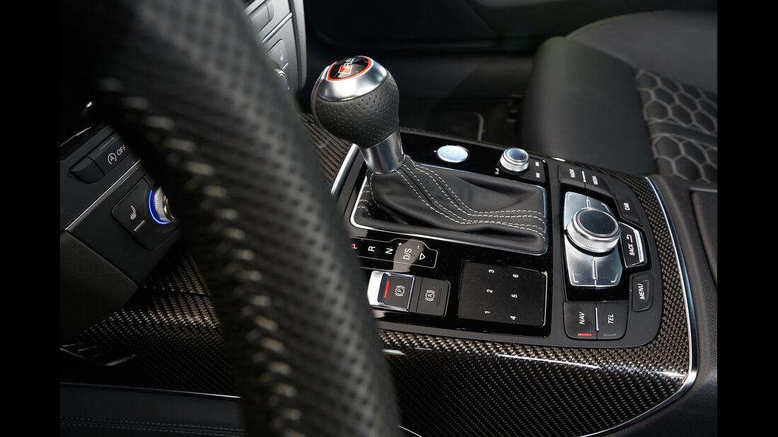 Audi RS 6 Avant, Schalthebel