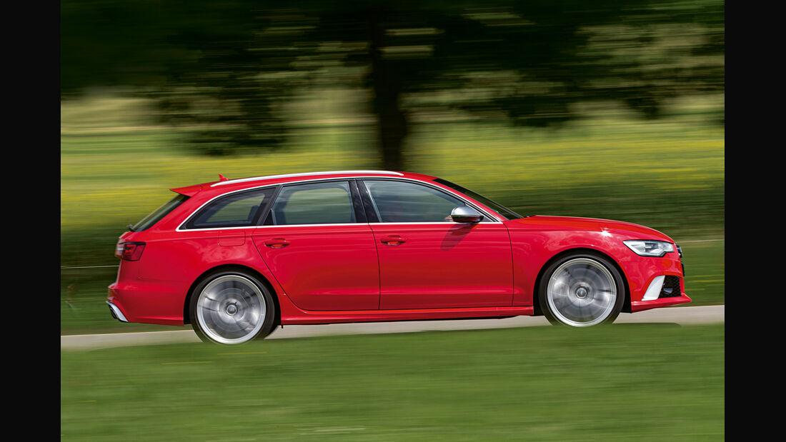 Audi RS 6 Avant, Seitenansicht