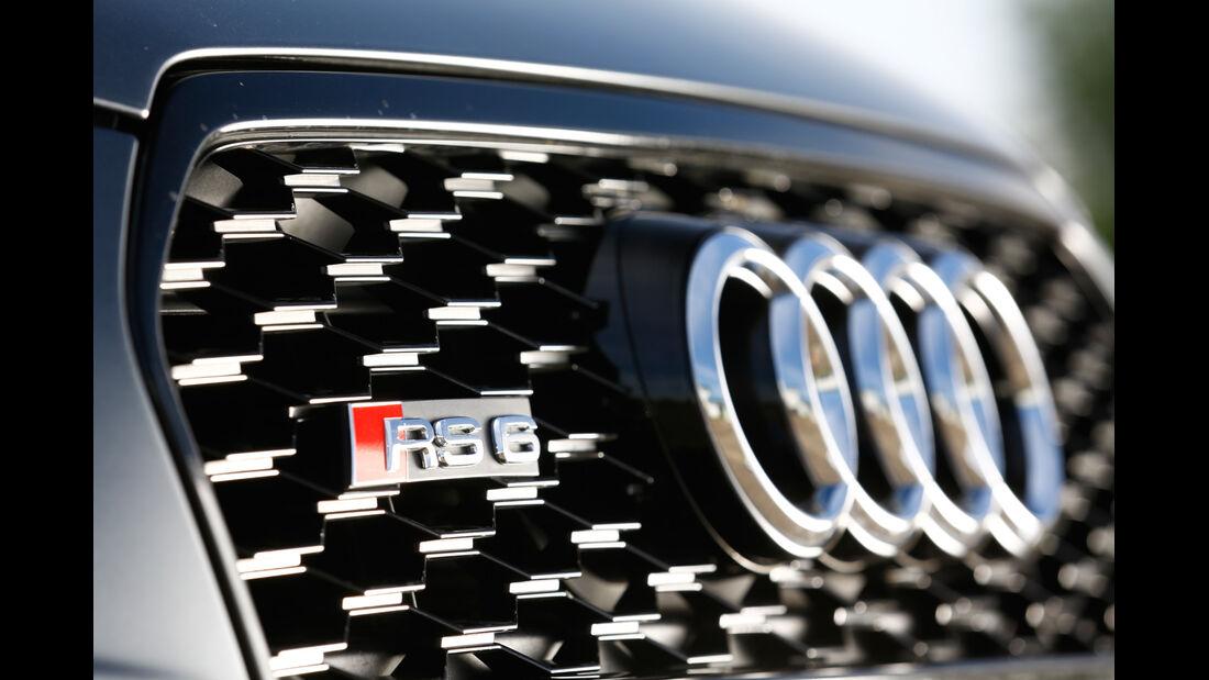 Audi RS 6 Avant, Wabengrill