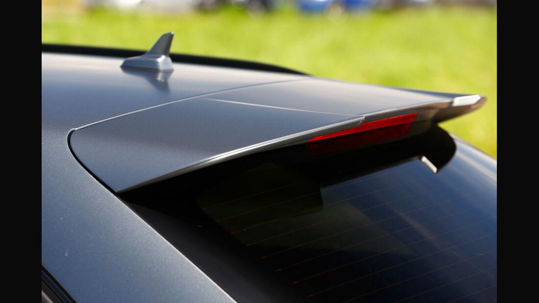 Audi RS 6 Avant, Windabweiser, Heckspoiler