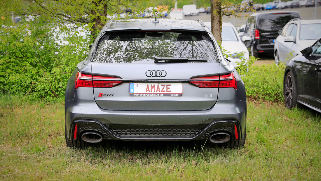 Audi RS 6 - Fanautos - 24h Rennen Nürburgring - Nürburgring-Nordschleife - 4. Juni 2021
