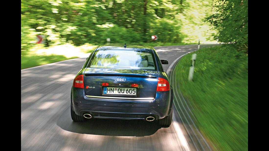 Audi RS 6, Heckansicht