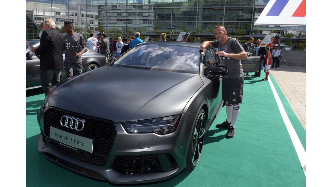 Audi RS 7 Performance - Franck Ribery - FC Bayern München - Dienstwagen