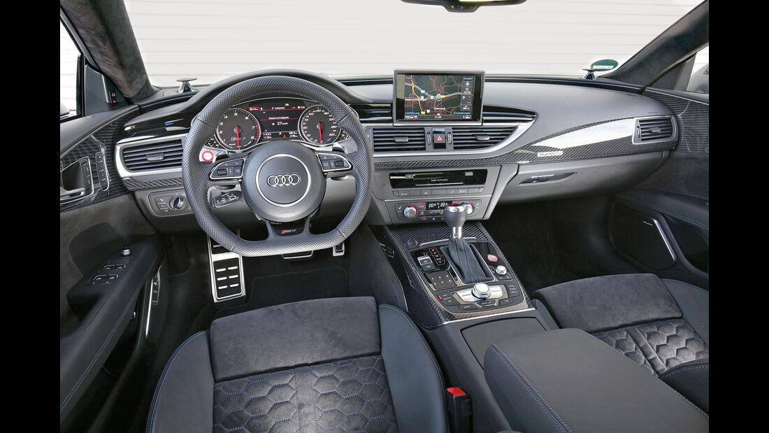 Audi RS 7  Sportback, Cockpit