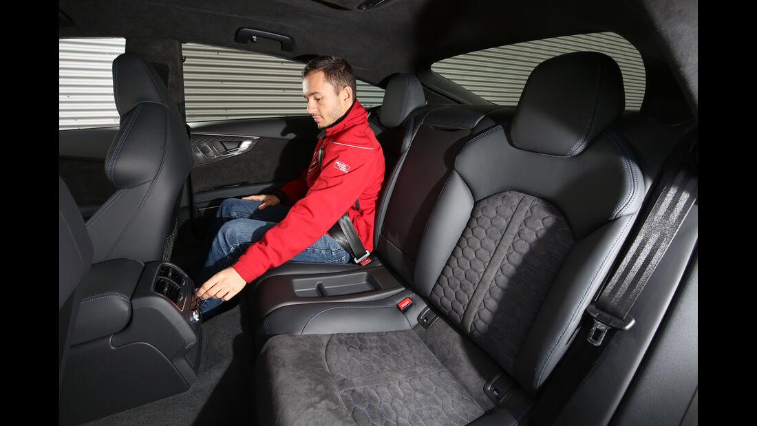 Audi RS 7  Sportback, Fondsitze