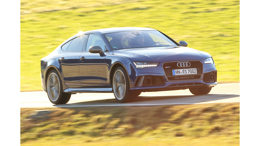 Audi RS 7  Sportback, Frontansicht