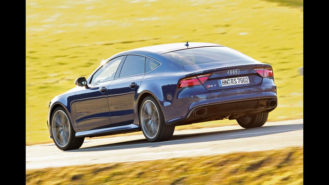Audi RS 7  Sportback, Heckansicht