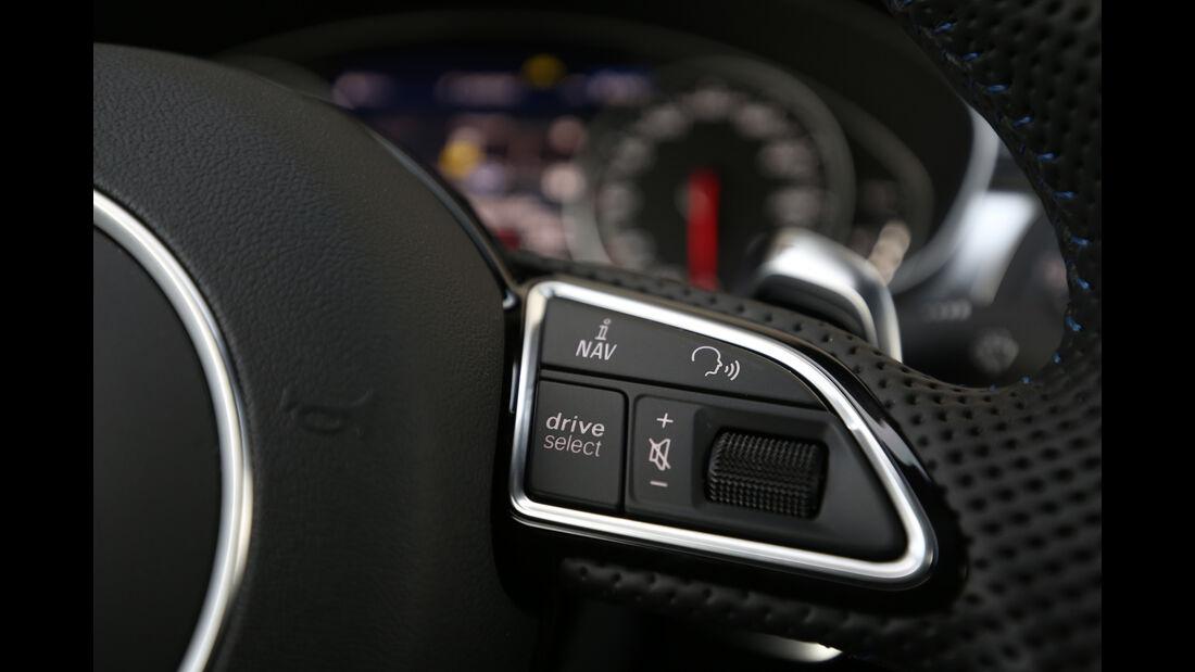 Audi RS 7  Sportback, Lenkradschalter