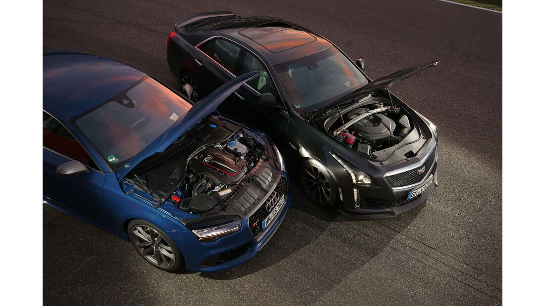 Audi RS 7 Sportback Performance, Cadillac CTS-V, Motoren