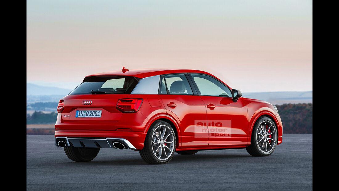 Audi RS Q2 Retusche