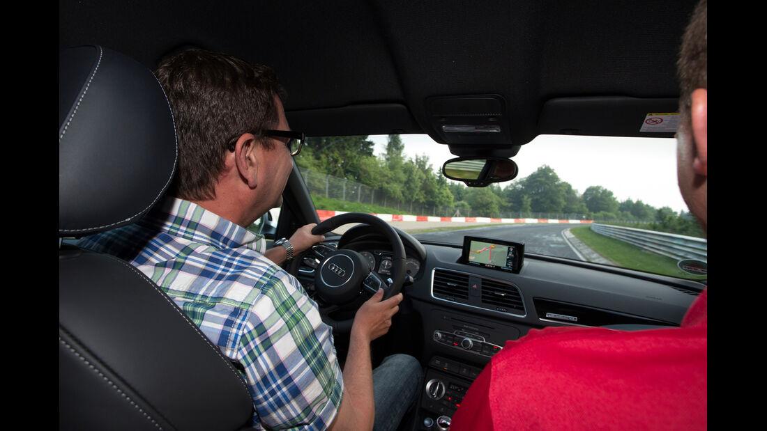 Audi RS Q3, Cockpit, Fahrersicht