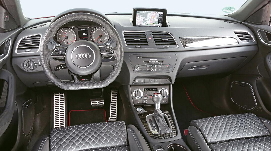 Audi RS Q3, Cockpit