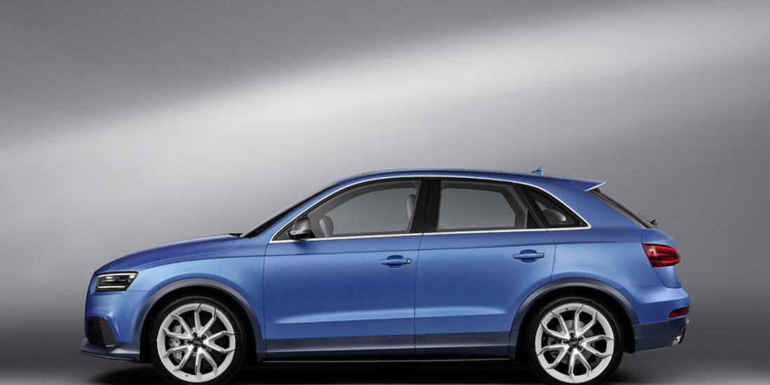 Audi RS Q3 Concept, Seitenansicht