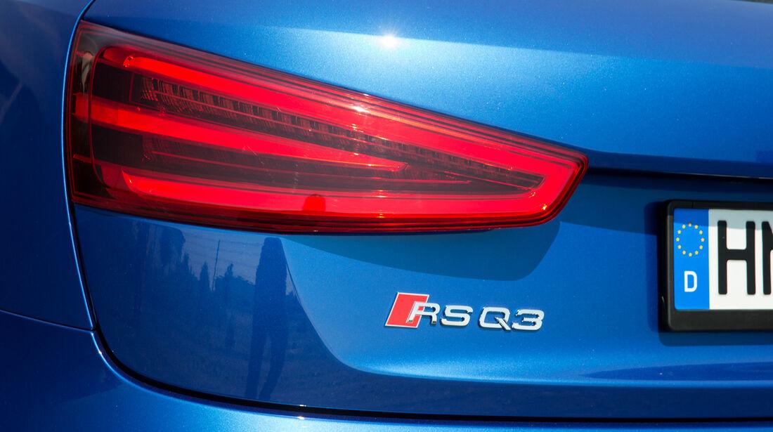 Audi RS Q3, Heckleuchte