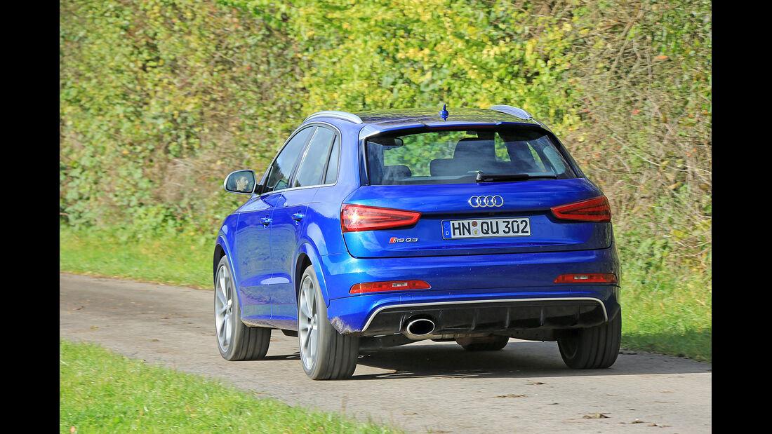 Audi RS Q3, Kurztest, spa 04/2014, Heftvorschau