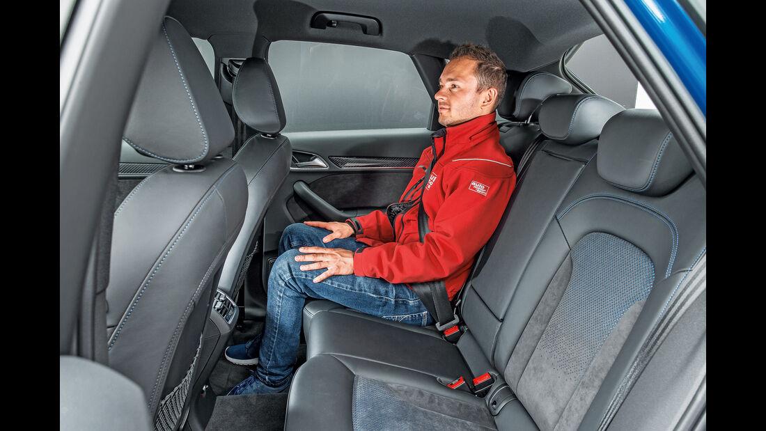 Audi RS Q3 Performance, Fondsitze