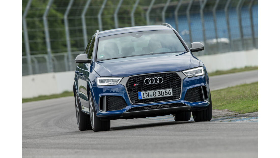 Audi RS Q3 Performance, Frontansicht