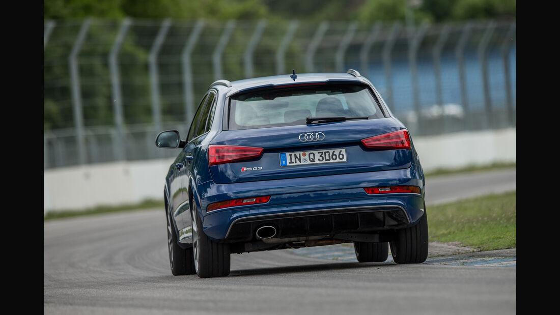Audi RS Q3 Performance, Heckansicht