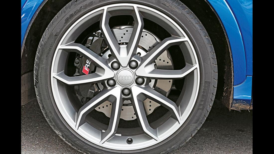 Audi RS Q3, Rad, Felge, Bremse