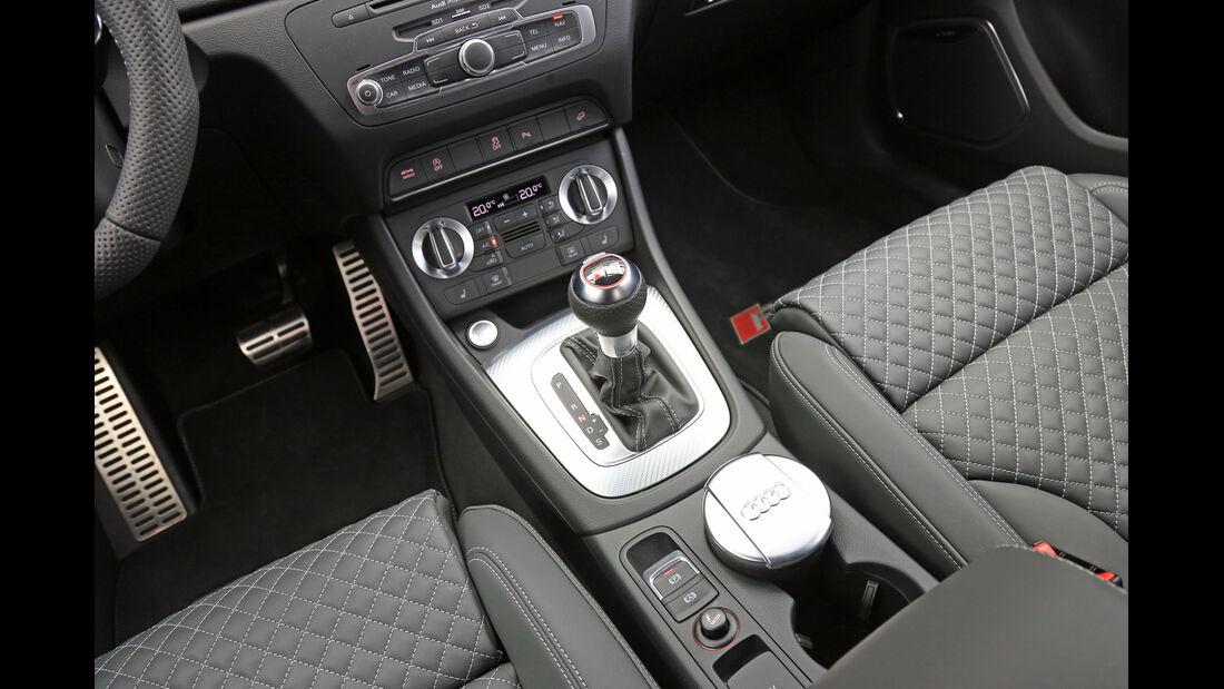 Audi RS Q3, Schalthebel