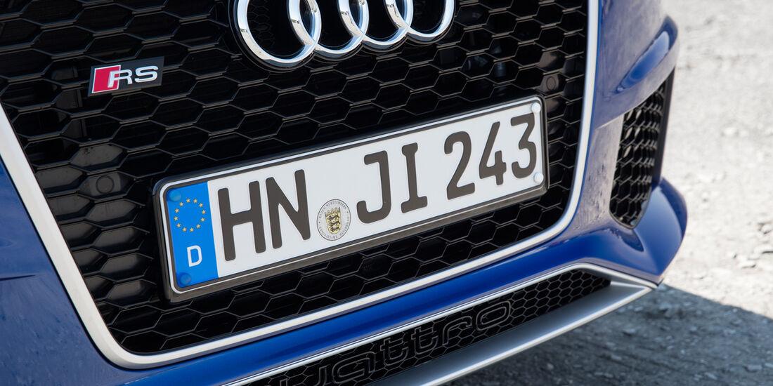 Audi RS Q3, Schnauze