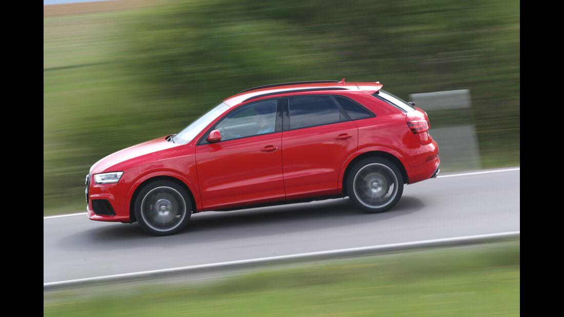 Audi RS Q3, Seitenansaicht